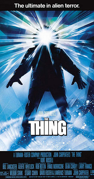 Movie poster from The Thing